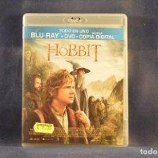 Cine: EL HOBBIT - UN VIAJE INESPERADO - 2 BLU RAY + DVD. Lote 293745093
