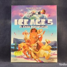 Cine: ICE AGE 5 - EL GRAN CATACLISMO - BLU RAY + BLU RAY 3D. Lote 293776988