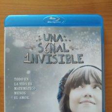 Cine: BLU-RAY UNA SEÑAL INVISIBLE - JESSICA ALBA (6K). Lote 294955588