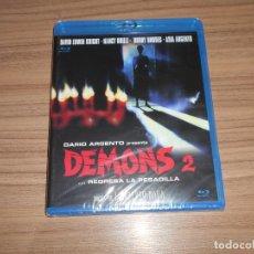 Cine: DEMONS 2 TERROR BLU-RAY DISC DE DARIO ARGENTO NUEVO PRECINTADO. Lote 295042998