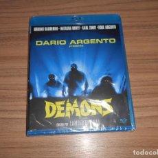 Cine: DEMONS TERROR BLU-RAY DISC DE DARIO ARGENTO NUEVO PRECINTADO. Lote 295043953