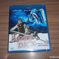 Cine: MOBY DICK BLU-RAY DISC ORSON WELLES GREGORY PECK NUEVO PRECINTADO. Lote 295044788