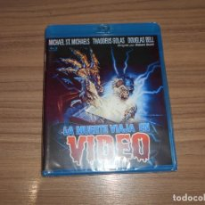 Cine: LA MUERTE VIAJA EN VIDEO TERROR BLU-RAY DISC NUEVO PRECINTADO. Lote 295045638