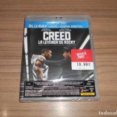Cine: CREED LA LEYENDA DE ROCKY EDICION ESPECIAL BLU-RAY DISC + DVD STALLONE NUEVO PRECINTADO. Lote 295364868