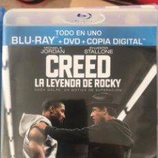 Cine: CREED LA LEYENDA DE ROCKY (BLUE RAY + DVD + COPIA DIGITAL). Lote 295458873