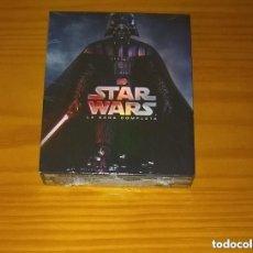 Cine: STAR WARS LA SAGA COMPLETA 9 DISCOS BLU-RAY PRECINTADO. Lote 295749028
