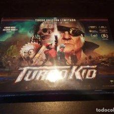 Cine: TURBO KID TURBO EDICIÓN LIMITADA BLU-RAY + DVD + VHS + CD 997 COPIAS NUEVO PRECINTADO. Lote 295760558