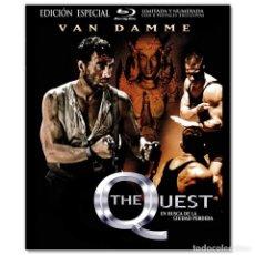 Cine: THE QUEST VAN DAMME EDIÓN ESPECIAL BLURAY. Lote 295814883