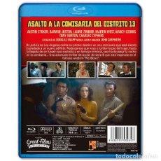 Cine: ASALTO A LA COMISARÍA DEL DISTRITO 13 BLURAY. Lote 295815098
