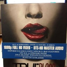 Cine: BLU RAY TRUE BLOOD FIRST SEASON. Lote 296076543