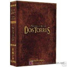 Cine: DVD ORIGINAL *EL SEÑOR DE LOS ANILLOS: LAS DOS TORRES*(ED.EXTENDIDA 4 DISCOS DIGIPAK).DESCATALOGADO.. Lote 23504482