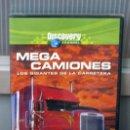 Cine: DVD MEGA CAMIONES -LOS GIGANTES DE LA CARRETERA-. Lote 26603332