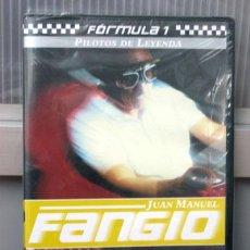 Cine: JUAN MANUEL FANGIO - DVD COLECCIÓN PILOTOS DE LEYENDA. Lote 39368185