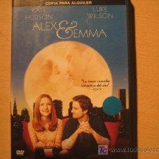 Cine: ALEX Y GEMMA. Lote 5624125