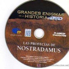 Cine: DVD - GRANDES ENIGMAS DE LA HISTORIA - PROFECIAS DE NOSTRADAMUS - PLANETA/EAGLE MEDIA. Lote 6924817