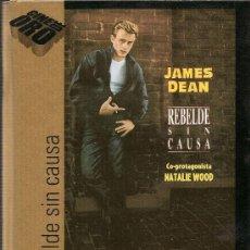 Cine: REBELDE SIN CAUSA ... JAMES DEAN ... NATALIE WOOD...DVD. Lote 13943642