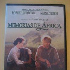 Cine: MEMORIAS DE AFRICA ( ROBERT REDFORD & MERYL STREEP ). Lote 26485026