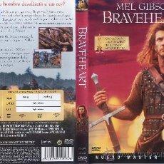 Cine: BRAVEHEART (EDICION ESPECIAL 2 DISCOS) - NUEVO Y PRECINTADO - ¡¡¡ DESCATALOGADO !!!. Lote 27433973
