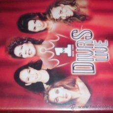 Cine: 1 DIVAS LIVE - CELINE DION-GLORIA ESTEFAN-ARETHA FRANKLIN-SHANIA-MARIAH CAREY. Lote 13893247