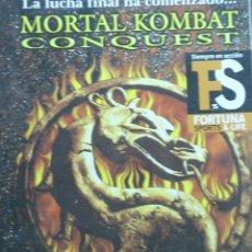 Cine: MORTAL KOMBAT CONQUEST, PELICULA ORIGINAL EN DVD. AÑO 2002, DURACIÓN 80 MINUTOS.. Lote 14035850