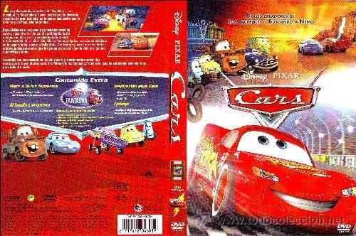 CARS (DISNEY - PIXAR). ANIMACIÓN. DIBUJOS ANIMADOS (Cine - Películas - DVD)