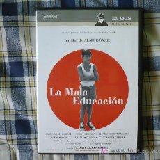 Cine: LA MALA EDUCACION (DE PEDRO ALMODOVAR ) DVD. Lote 23921403