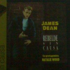 Cinema: JAMES DEAN REBELDE SIN CAUSA LIBRO DVD NUEVO . Lote 25126000