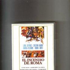 Cine: EL INCENDIO DE ROMA 1965. Lote 17663422
