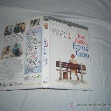 Cine: FORREST GUMP TOM HANKS EDICION ESPECIAL 2 DVD ORIGINALES. Lote 22011280