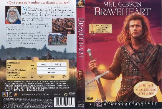 BRAVEHEART EDICION ESPECIAL 2 DISCOS NUEVO MASTER DIGITAL 2 DVD ORIGINALES (Cine - Películas - DVD)