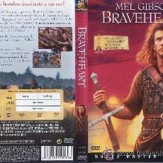 Cine: BRAVEHEART EDICION ESPECIAL 2 DISCOS NUEVO MASTER DIGITAL 2 DVD ORIGINALES . Lote 18788976
