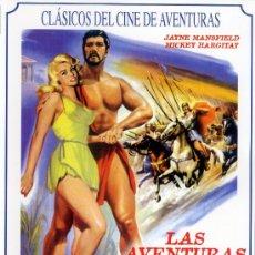 Cine: LAS AVENTURAS DE HERCULES (DVD PRECINTADO) JAINE MANSFIELD - EDICION MUY RECOMENDADA. Lote 26314458