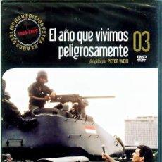 Cine: DVD EL AÑO QUE VIVIMOS PELIGROSAMENTE. Lote 20744422