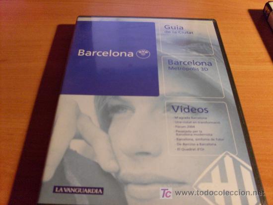 BARCELONA, GUIA DE LA CIUDAD. METROPOLIS 3D. (Cine - Películas - DVD)
