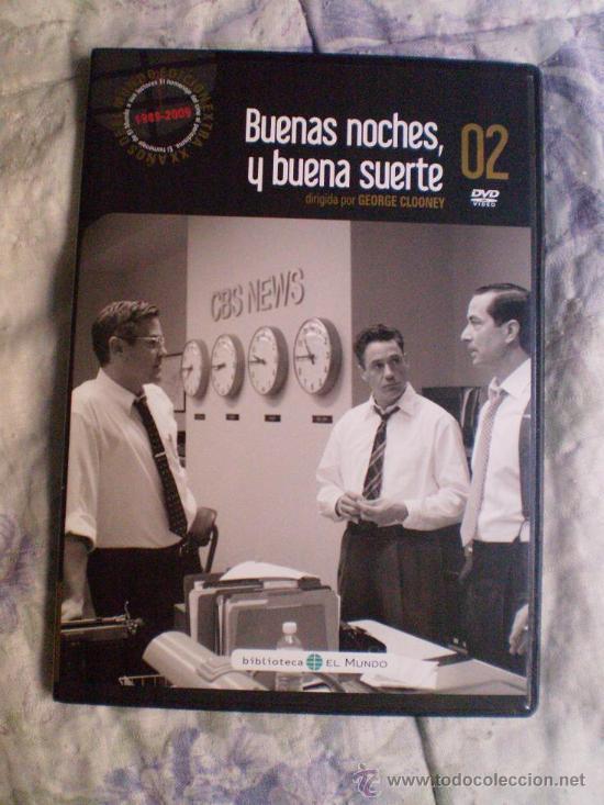 BUENAS NOCHES Y BUENA SUERTE (Cine - Películas - DVD)
