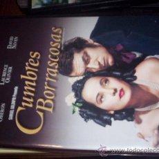 Cine: CUMBRES BORRASCOSAS. Lote 17034402