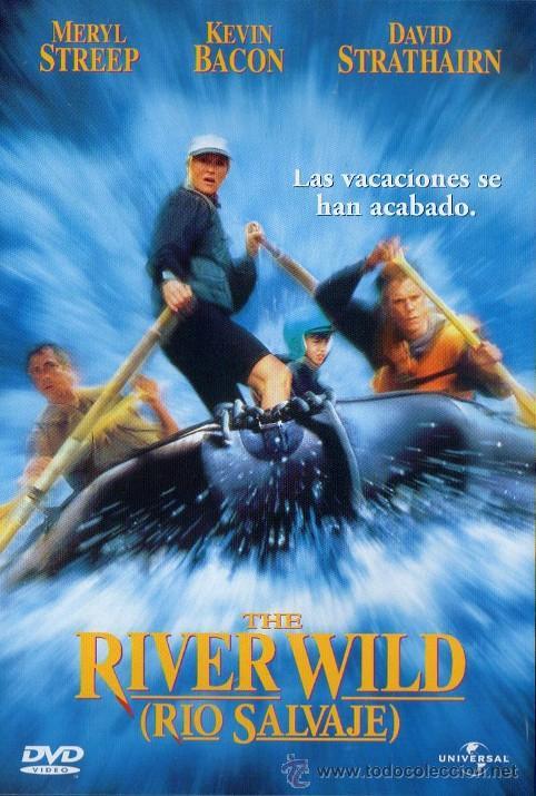 DVD. RIO SALVAJE, DE CURTIS HANSON, 1994. MERYL STREEP, KEVIN BACON, DAVID STRATHAIRN, JOSEPH MAZZEL (Cine - Películas - DVD)