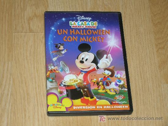 Mickey Mouse Un Halloween Con Mickey Dvd Disney