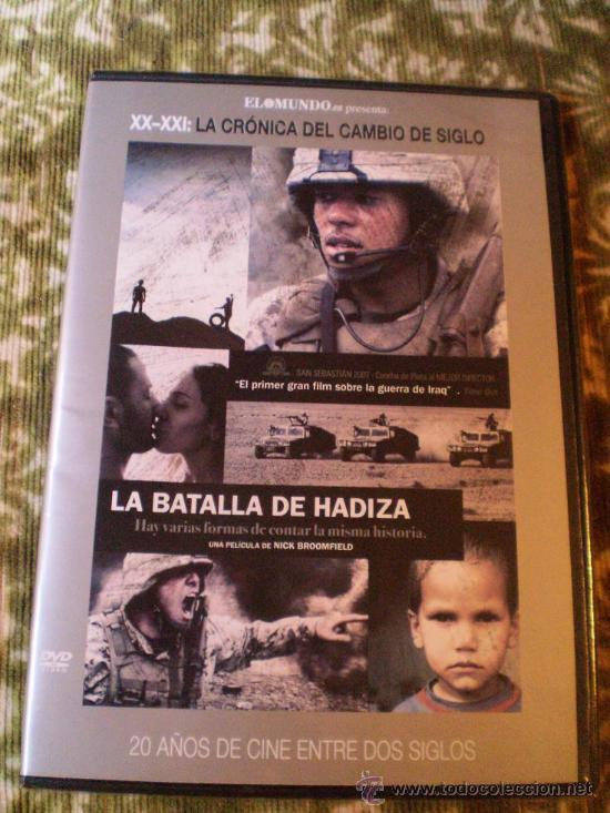 COLECCION EL MUNDO.LA BATALLA DE HADIZA (Cine - Películas - DVD)