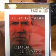 Cine: DEUDA DE SANGRE / DVD NUEVO Y PRECINTADO - CLINT EASTWOOD. Lote 19436073
