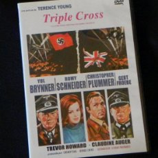 Cine: PELÍCULA TRIPLE CROSS DVD LADRÓN CHAPMAN II GUERRA MUNDIAL NAZIS ESPÍA ESPIONAJE SUSPENSE SCHNEIDER. Lote 27263382