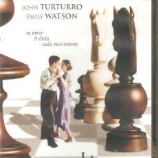 Cine: LA DEFENSA LUZHIN DVD MARLEEN GORRIS AJEDREZ JOHN TURTURRO EMILY WATSON. Lote 20523441