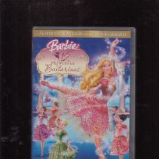 Cine: BARBIE EN LAS 12 PRINCESAS BAILARINAS ( DVD ). Lote 20693734