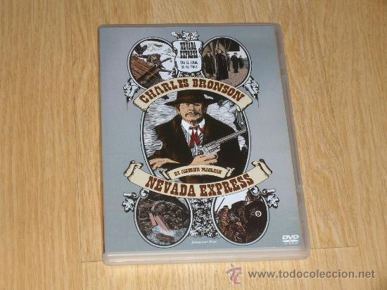 NEVADA EXPRESS DVD CHARLES BRONSON (Cine - Películas - DVD)