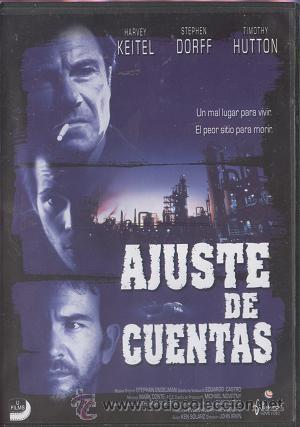 DVD AJUSTE DE CUENTAS; HARVEY KEITEL, STEPHEN DORFF, TIMOTHY HUTTON (Cine - Películas - DVD)