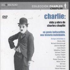 Cine: DVD CHARLIE: VIDA Y OBRA DE CHARLES CHAPLIN. Lote 26136291