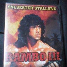 Cine: RAMBO III , SYLVESTER STALLONE. Lote 23361608