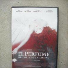 Cine: EL PERFUME - HISTORIA DE UN ASESINO CON BEN WHISHAW / ALAN RICKMAN / RACHEL HURD-WOOD / - DVD. Lote 21634106