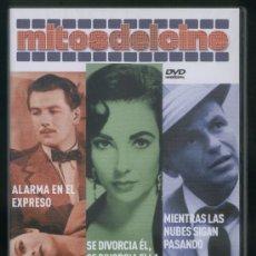 Cine: MITOS: ALARMA EN EL EXPRESO, SE DIVORCIA EL, SE DIVORCIA ELLA ,MIENTRAS LAS NUBES SIGAN PASANDO.. Lote 22813422