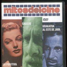 Cine: MITOS DEL CINE: LA FUGITIVA, GALILEO, KRAKATOA AL ESTE DE JAVA. Lote 22813441